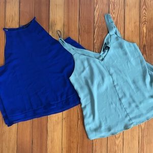 Bundle! Zara and F21 Tanks | Sz S
